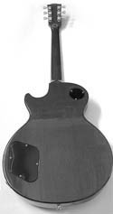 Les Paul rear view
