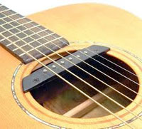 Sound hole pickup