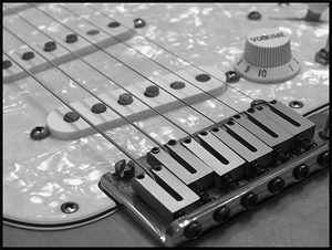 contemporary stratocaster bridge