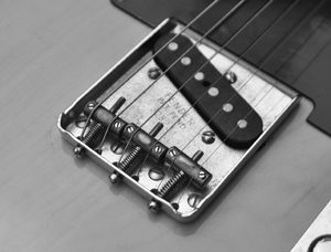 Vintage Telecaster bridge